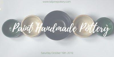 Paint Handmade Ceramic Platter Set