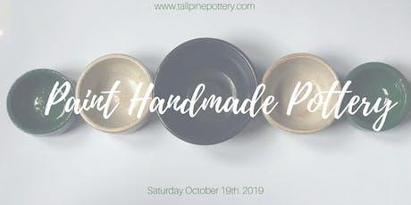 Paint Handmade Ceramic Platter Set tickets