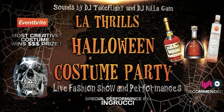 LA Thrills Halloween Costume Party with Special Performance by RUCCI tickets