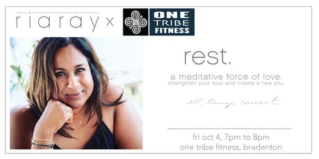 Ria Ray REST CLASS tickets