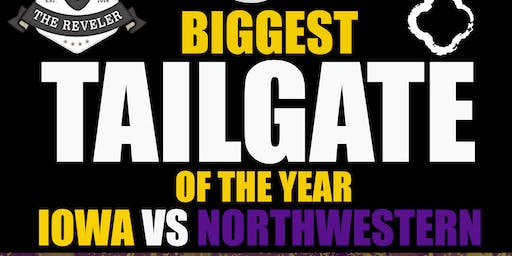 The Official IOWA Tailgate vs. NU - BIGGEST PARTY OF THE YEAR (2,000+PPL)