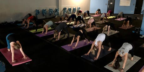 All-Levels Yoga Class at Burn Boot Camp - [Bottoms Up! Yoga & Brew] tickets
