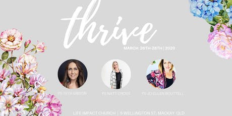 Thrive tickets