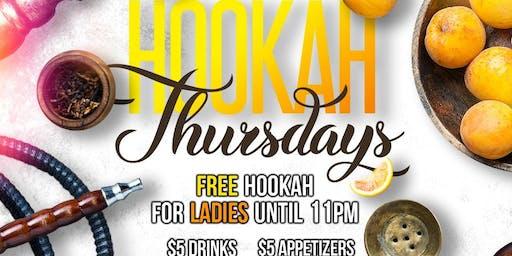 Free Hookah Thursdays