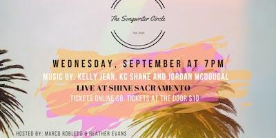 September Songwriter Circle Showcase at Shine