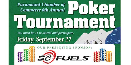 6th Annual Poker Tournament tickets