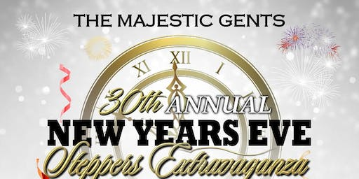 MAJESTIC GENTS 30th ANNUAL NEW YEARS EVE