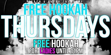 FREE Hookah Thursdays tickets