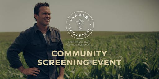 Farmer's Footprint Screening Hosted by Rutabagas etc. Natural Food Market