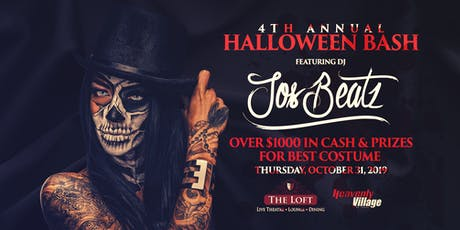 4th Annual Halloween Bash tickets