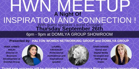 HALTON WOMEN NETWORKING - September MEETUP  tickets