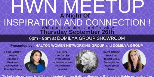 HALTON WOMEN NETWORKING - September MEETUP