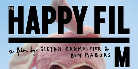 The Happy Film: a graphic design experiment/film by Stefan Sagmeister tickets