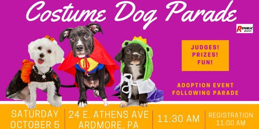 Costume Dog Parade
