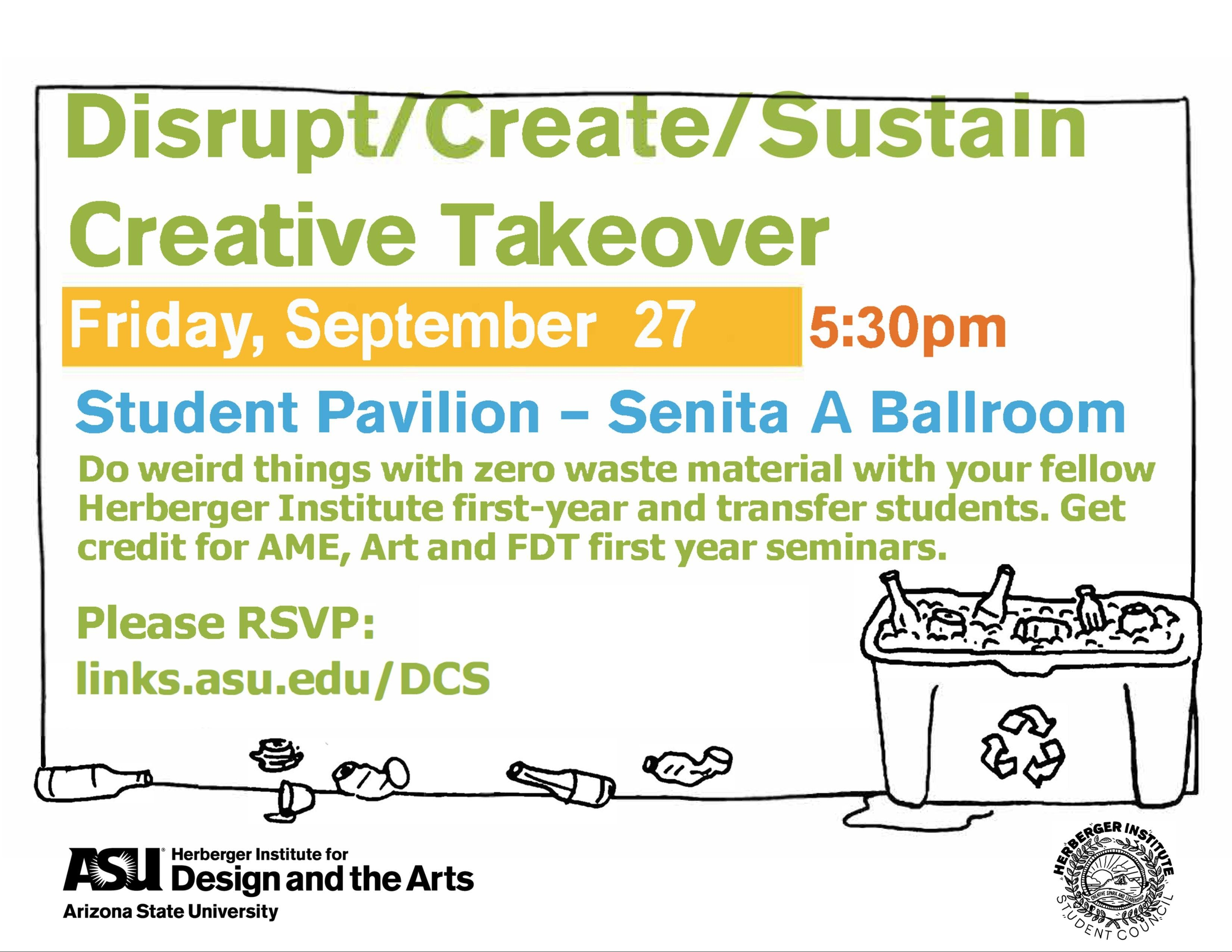 Herberger Institute Creative Takeover