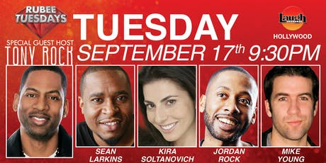 Tony Rock, Kira Soltanovich, and more - Rubee Tuesday! tickets