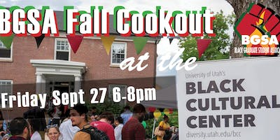BGSA Fall Social: Cookout at the BCC