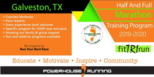 Powerhouse Running 2019-2020 Full & Half Marathon Training