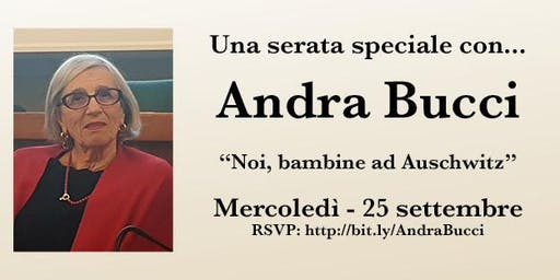 A Special Evening with Andra Bucci