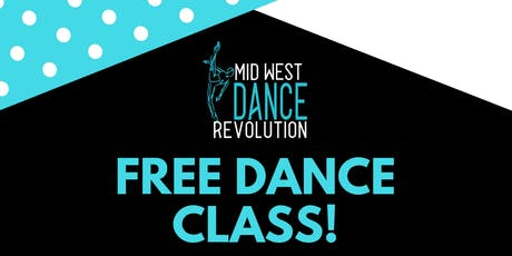Free Dance Class Ages 12 -18 tickets