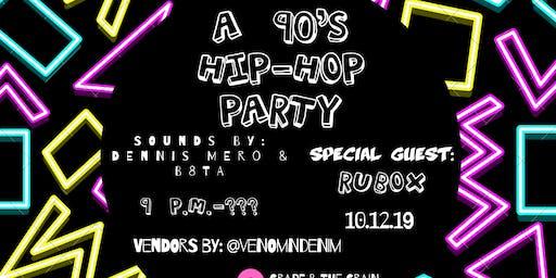 A 90's Hip-Hop House Party