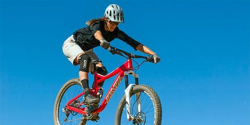 Level 2 women-only MTB skills at Valmont Bike Park, Boulder CO