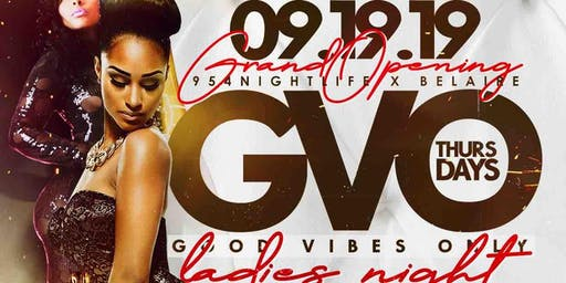 G.V.O Thursday Nights @ 00Shato Starting September 19th Downton Ft Lauderdale