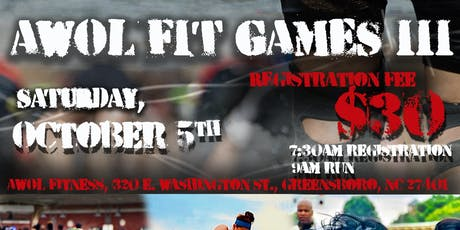 AWOL Fit Games III tickets