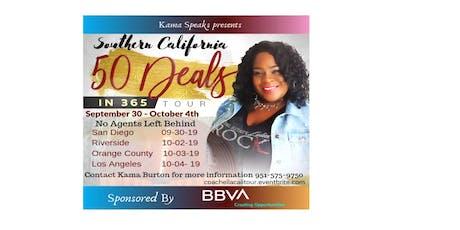 Coach Ella presents 50 Deals in 365 Days So Cal Tour tickets