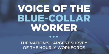 VOICE OF THE BLUE-COLLAR WORKER SEMINAR tickets