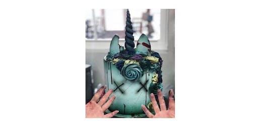 Zombie Unicorn Cake Decorating Workshop
