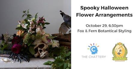 Spooky Halloween Flower Arrangements tickets