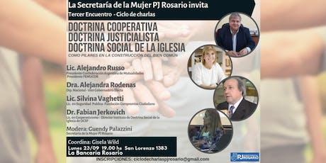 Doctrina Justicialista Doctrina Cooperativa Doctrina Social de la Iglesia 3 entradas