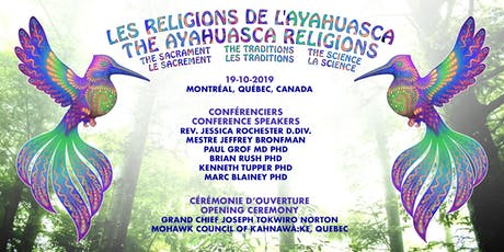 The Ayahuasca Religions Conference 2019 billets