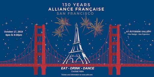 130th Anniversary Celebration - Alliance Française San Francisco