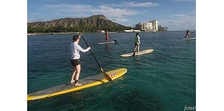2 Hour Open Group SUP Lessons (07-07-2020 starts at 9:00 AM) tickets