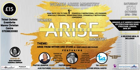 Woman Arise Ministry Conference tickets