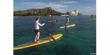 1 Hour Open Group SUP Lessons (2019-12-23 starts at 3:00 PM) tickets