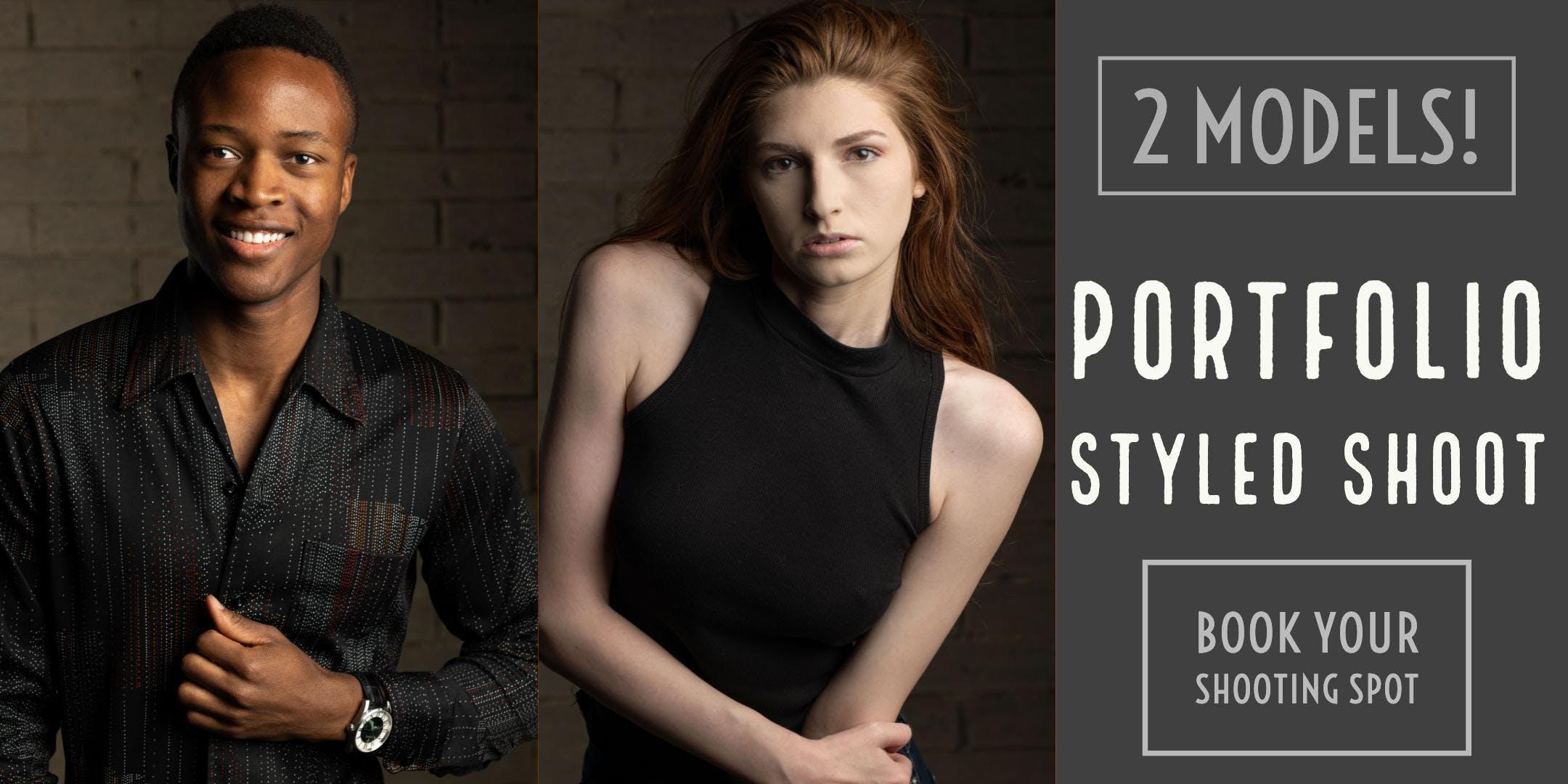 Styled Model Shoot September