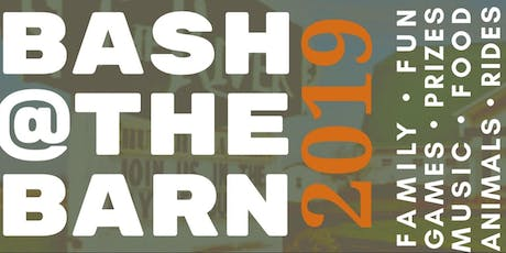 2019  BASH at the Barn tickets