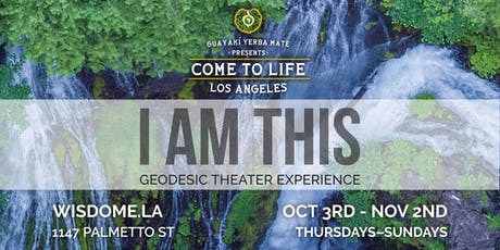 I AM THIS Geodesic Theater Experience + A New Día Exhibition tickets