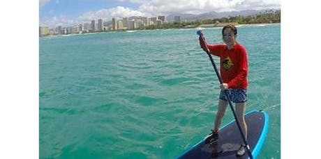 2 Hour Family SUP Lessons (2019-12-15 starts at 12:00 PM) tickets