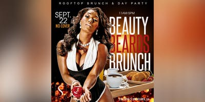 """SUNDAY SEPTEMBER 22ND :: """"BEAUTY × BEARDS × BRUNCH"""" ROOFTOP & DAY PARTY @ SUITE FOOD LOUNGE"""