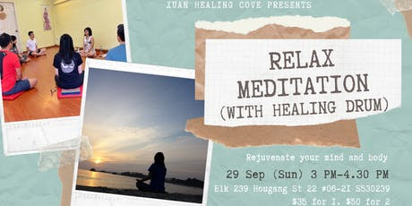 Relax Drum Meditation tickets