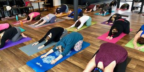 Brunch & Yoga Class - [Bottoms Up! Yoga & Brew] tickets