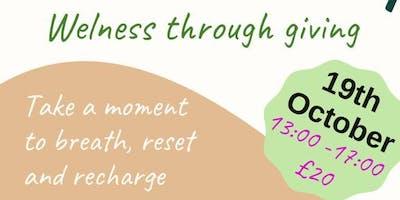 Wellness Through Giving
