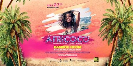 Afroboom @Bamboo Room  tickets