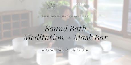 Masking & Sound Bath with Woo Woo Company  tickets