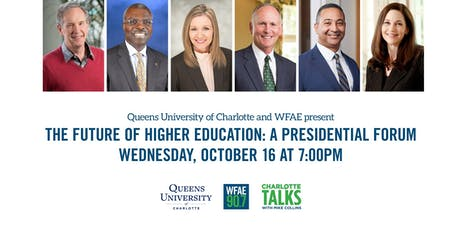 Queens University of Charlotte & WFAE: The Future of Higher Education  tickets