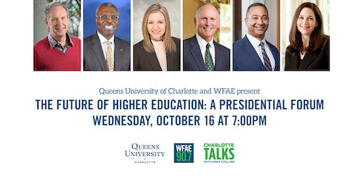 Queens University of Charlotte & WFAE: The Future of Higher Education